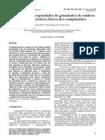 Influência Das Propriedades de Granulados de Celulose