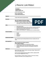 Sample Resume (1)