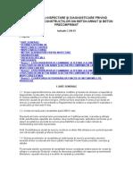 C 244-93 Ghid Pentru Inspectare Şi Diagnosticare Privind Durabilitatea Construcţiilor Din Beton Armat Şi Beton Precomprimat