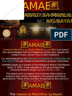 GAMABA Awardees