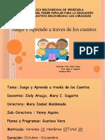 Proyecto de Aula Preescolar