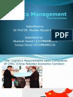 Logistics Project Presentation