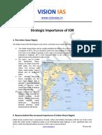 Strategic Importance of IOR