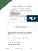 Equilibrium Workbook