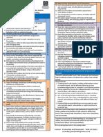 Standards Summary Card