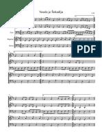 Vesela Je Sokadija - Score and Parts