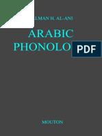 Al-Ani - Arabic Phonology
