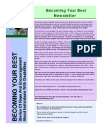 Becoming Your Best Newsletter - June 2010 Issue
