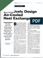 Air Cooler Design Sheiko