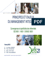Principes & Enjeux Management Integre QSE