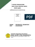 Log Book Mahasiswa