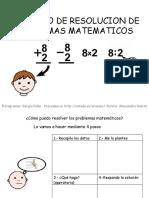 Resolución de Problemas de Matemáticas
