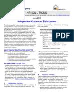 Independent Contractor - Buckner