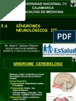 3-Sindrome Cerebeloso - Sindromes Demencial- Hipertension endocraneana