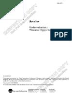 Arcelor Undervaluation Case