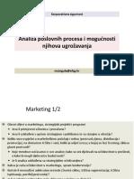 Analiza Poslovnih Procesa i Mogucnost