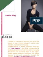 Presentation Camille Albane