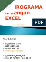 Pemrograman Excel
