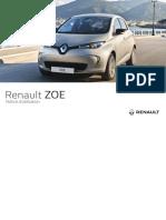 ZOE-Electric Vehile - Note Utilisation (French)