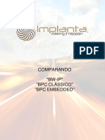 2.1 - Implanta - Comparando as Versões Do Sap-bpc e Bw-ip
