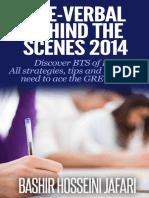 GRE-Verbal Behind the Scenes 2014