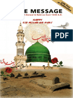 The Message Magazine - Rabi-ul-Awwal & Rabi-us-Sani 1438 AH