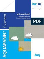 Aquapanel All Weathers Uk