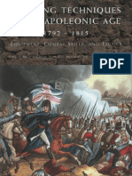 Fighting Techniques of the Napoleonic Age