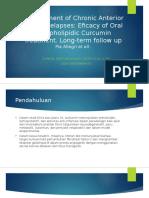 Management of Chronic Anterior Uveitis Relapses.pptx