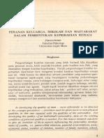 JURNAL - Peranan Keluarga, Sekolah Dan Masyarakat Dalam Pembentukan k