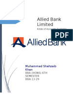 Allied Bank Different Accounts