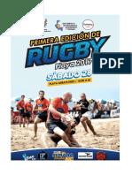Bases y Normas Del Campeonato de Rugby Playa