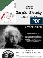 innovators mindset book study activities