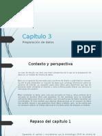 Capítulo 3 Preparación de Datos