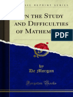 On the Study and Difficulties of Mathematics 1000000807