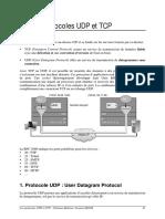 3-Les Protocoles UDP TCP