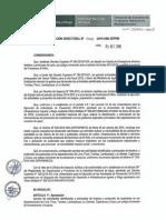 Resolución Directoral Nº 08 2015 Ana Dephm