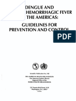 Dengue and and Dengue Hemorrhagic Fever in the Americas, Guidelines for Prevention and Control; 1997