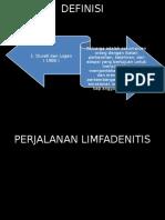Cl Limpadenitis