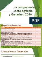 Rop Agricola y Ganadero 2016