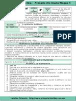 Plan 4to Grado - Bloque 3 Geografía (2016-2017)