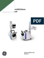 Ge Optima Xr200amx Xr220amx x Ray System Installation Manual