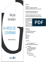 SENELLART, M. as Artes de Governar