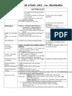 Lista Útiles Secundariacorregida 2017docx