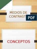 Medio de Contraste
