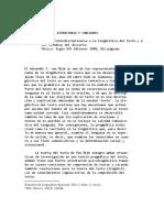 Teun a Van Dijk Estructuras y Funciones