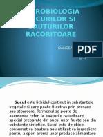 Microbiologia Sucurilor Si Bauturilor Racoritoare