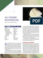 25 All Ceramic Restorations
