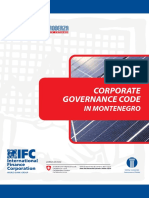 Corporate Governance Code in Montenegro