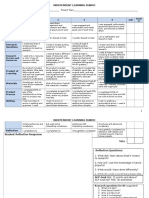 independent learning rubric 2014-2015elementary